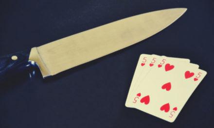 Le carte vengono e il giocatore si ubriaca